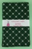 Fat Quarter - P251 Christmas - Snowflakes - Green